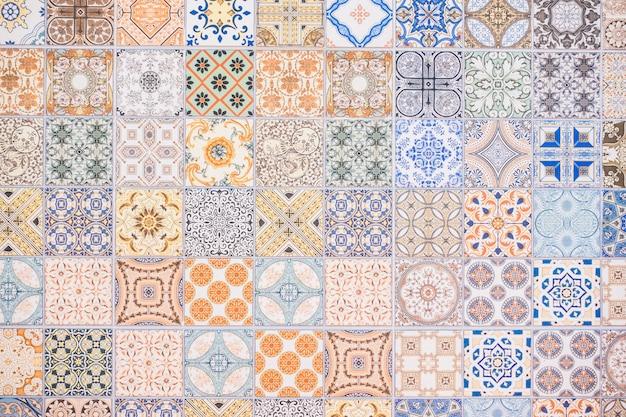 Tekstury płytek ceramicznych i powierzchni