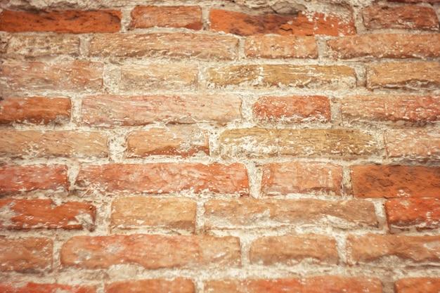 Tekstury starej czerwonej cegły, cegły