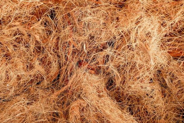 Tekstury włókno kokosowe abstrakcyjne tło