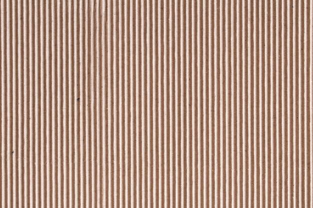 Tektura falista lub tekstura papieru w brązowym pudełku