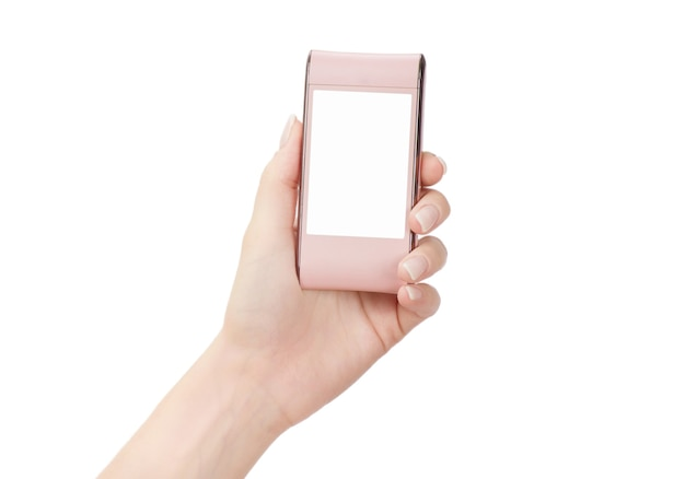 Telefon komórkowy w kobiecej dłoni