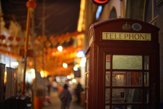 Telefon w londynie