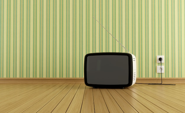 Telewizor retro