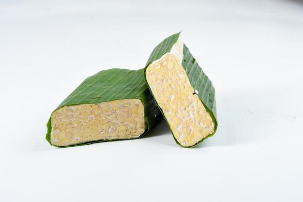 Tempeh indonezyjska tradycyjna żywność z fermentowanej soi