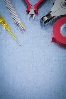 Tester elektryczny śruba izolacyjna taśma izolacyjna kable ochronne do drutu szczypce do zdejmowania izolacji