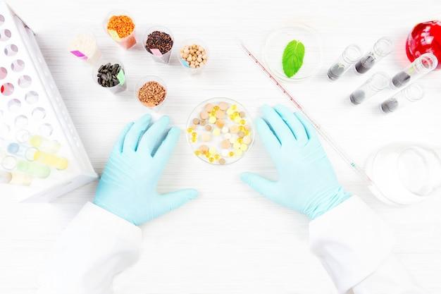 Testowanie produktów gmo