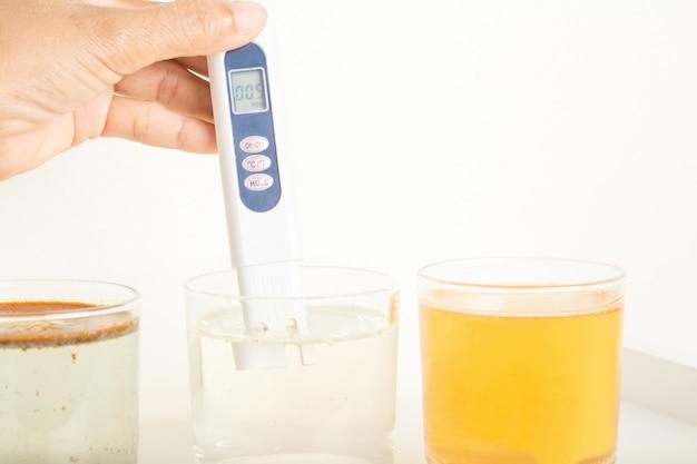 Testowanie wody pitnej