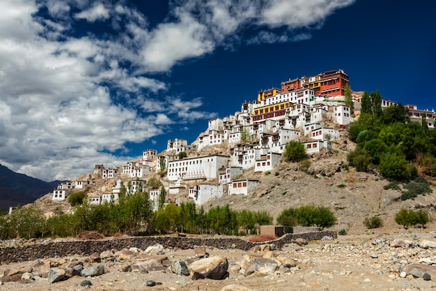 Thiksey gompa, ladakh, indie