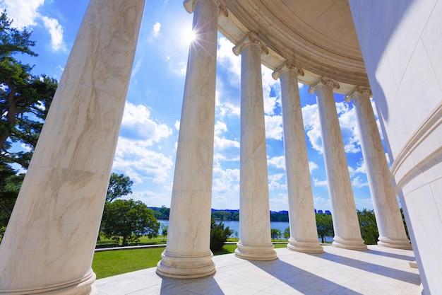Thomas jefferson memorial w waszyngtonie