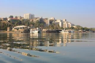Tiberias widok z galilei morze