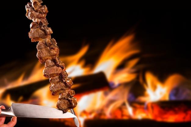 Tibon, tradycyjny brazylijski grill.