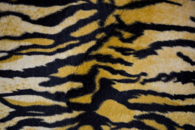 Tiger print / animal print dywan w tle