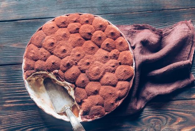 Tiramisu w naczyniu do pieczenia