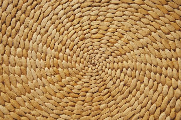 Tkanie rattanu wikliny tekstura tło wzór streszczenie