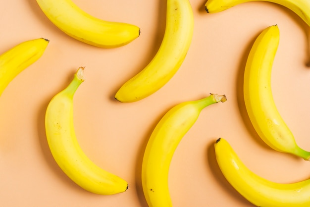 Tło bananowe