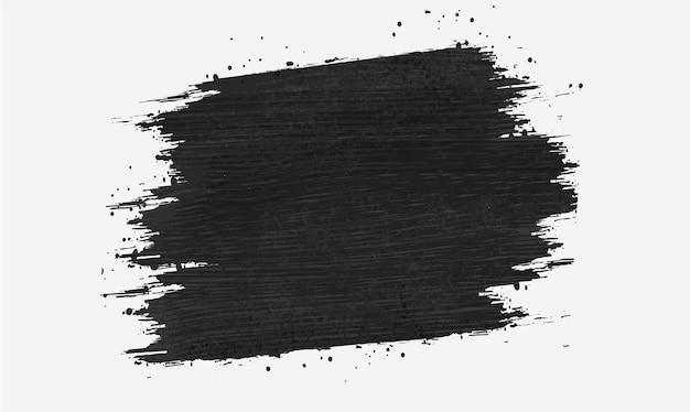 Tło banera obrysu pędzla