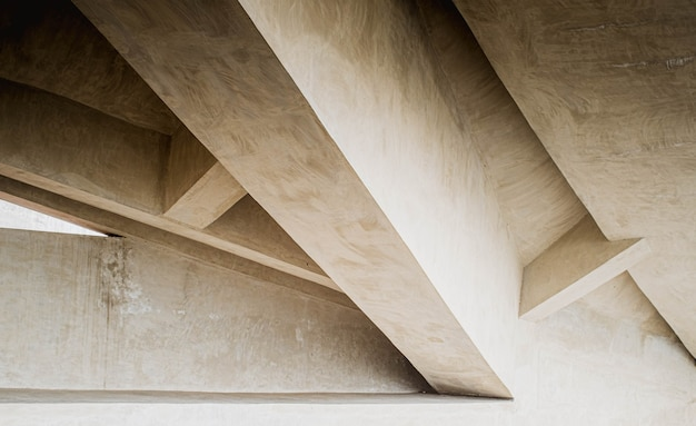 Tło betonu i brutalizmu.