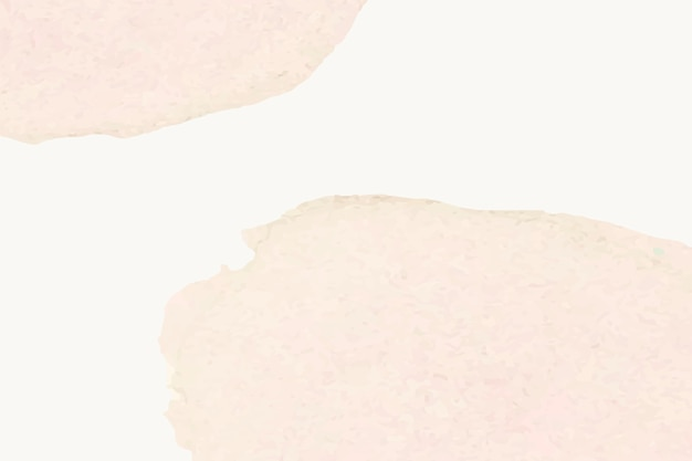 Tło beżowej akwareli z kolorowymi plamami w prostym stylu