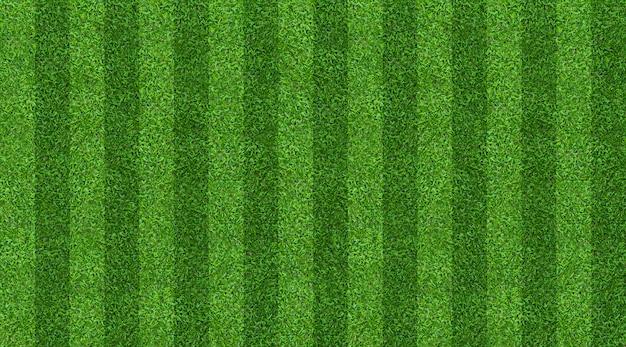 Tło boisko zielone dla piłki nożnej i piłki nożnej
