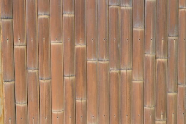 Tło brown bambus deskowa drewniana tekstura.