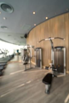 Tło centrum fitness