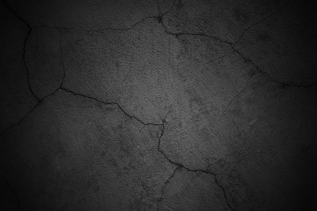 Tło czarne ściany, ciemna tekstura powierzchni betonu