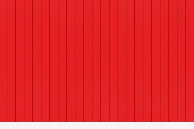 Tło czerwone drewniane panele ścienne tło.