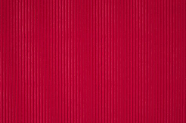 Tło czerwone tektury falistej