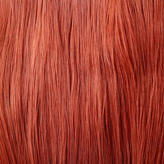 Tło czerwone włosy