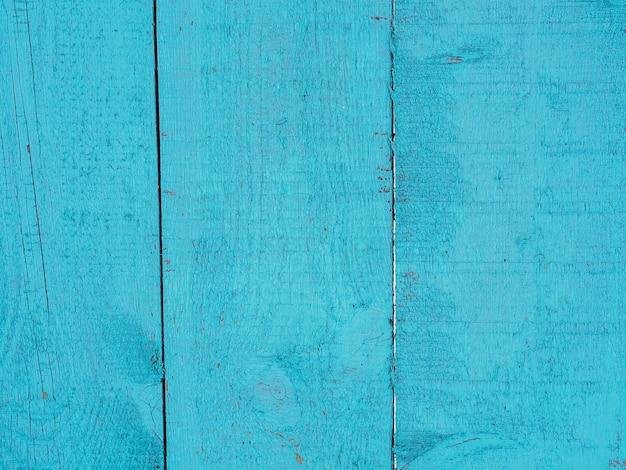Tło desek pomalowane farbą w kolorze niebieskim lub turkusowym