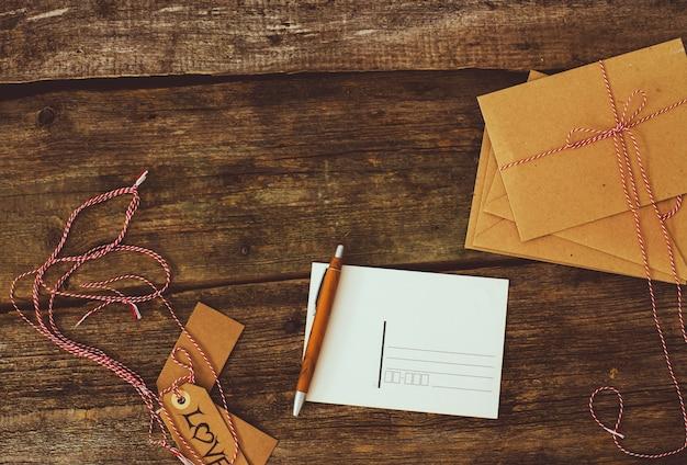 Tło dostarczania poczty