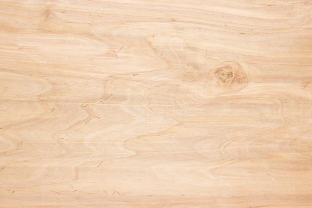 Tło drewna, lekka tekstura drewnianej tarczy lub panelu tablicy