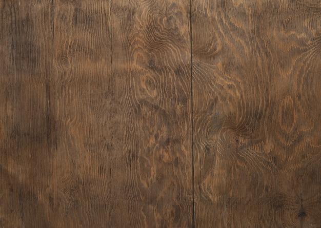 Tło drewnianych desek w kolorze brązowym