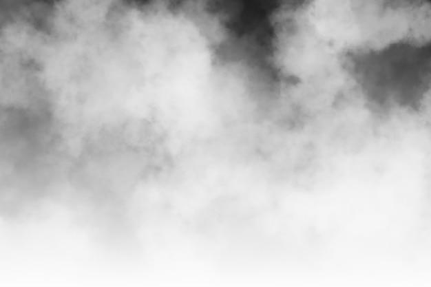 Tło dymu i gęsta mgła, abstrakcyjne tło