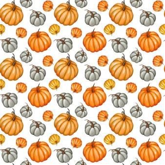 Tło dyni jesień wzór dyni