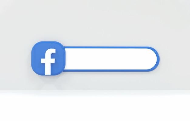 Tło etykiety facebook