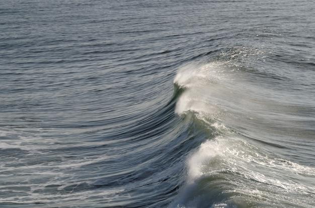 Tło fale oceanu