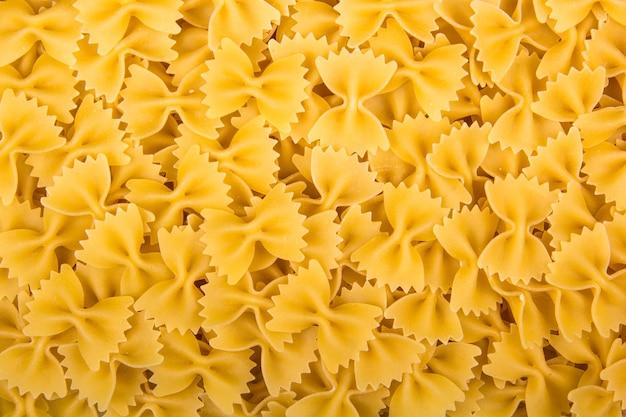 Tło farfalle włoski makaron