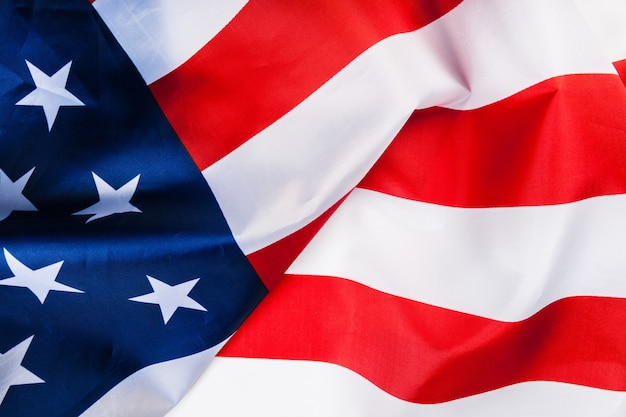 Tło flagi amerykańskiej