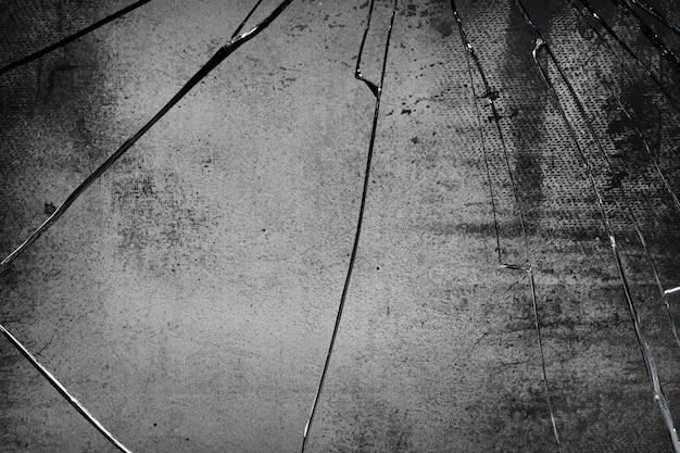 Tło grunge z teksturą pękniętego szkła