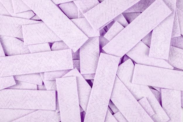 Tło gumy do żucia. teksturowana powierzchnia
