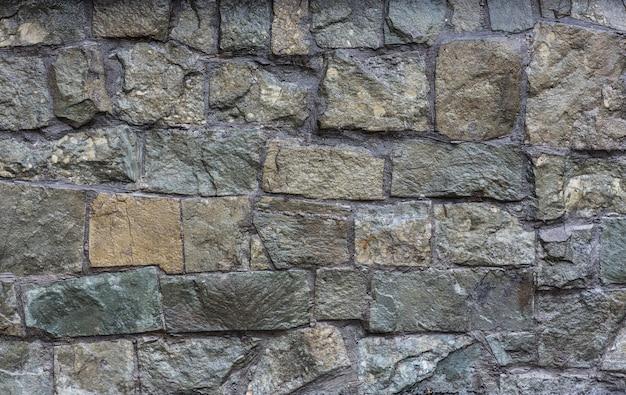Tło i tekstura dekoracyjna szara kamienna ściana