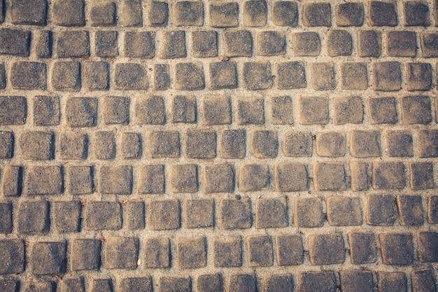 Tło i tekstury z kamienia podłogi, zabytkowe stylu koloru