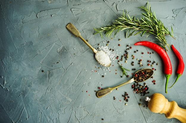 Tło koncepcja żywności ekologicznej