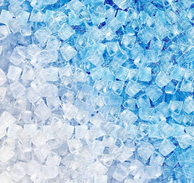 Tło kostek lodu