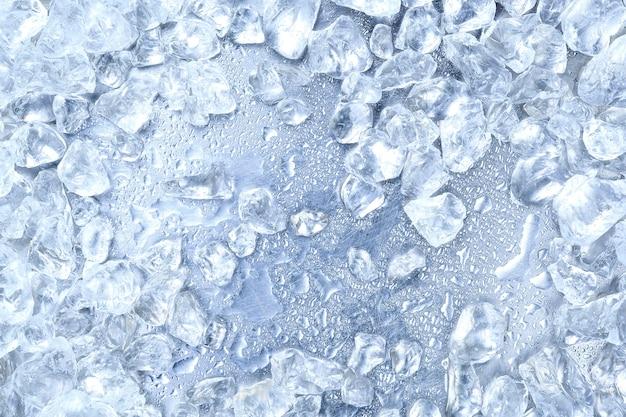 Tło kruszony lód