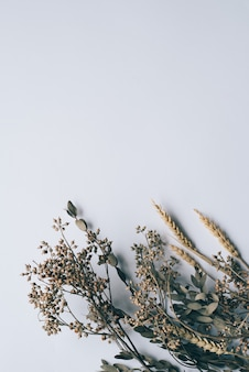 Tło kwiatu rocznik dla ślubnej karty.