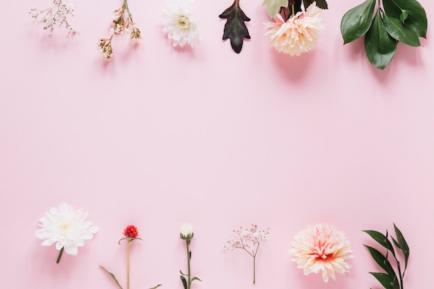 Tło kwiaty