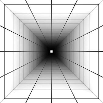Tło linii siatki perspektywy