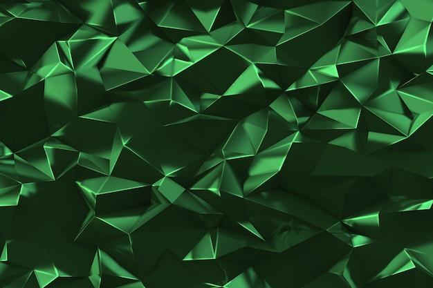 Tło low poly. element projektu graficznego. walentynki lub kartka urodzinowa, wesele, chrzciny lub zaproszenia ślubne, ozdobny plakat. tekstura monochromatyczna efekt geometryczny. ilustracja 3d